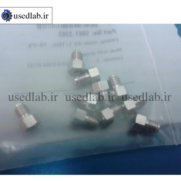 New Agilent part 5061 3303 Fitting male SS 116,10Pk